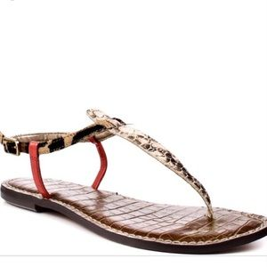 Sam Edelman Gigi Python Sandals
